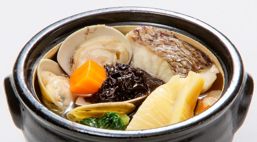 鯛と十六島のり鍋